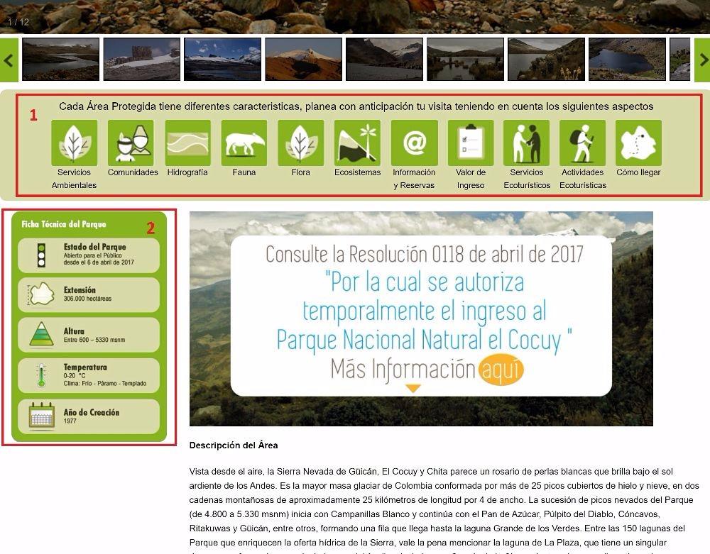 Cocuy homepage overzicht1