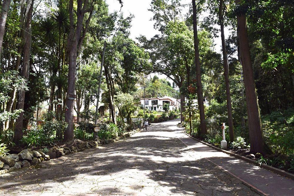 Santuario Sopó - Colombia buiten de gebaande paden