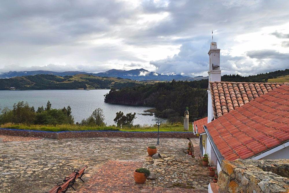 Groene bestemming- Lago de Tota Colombia