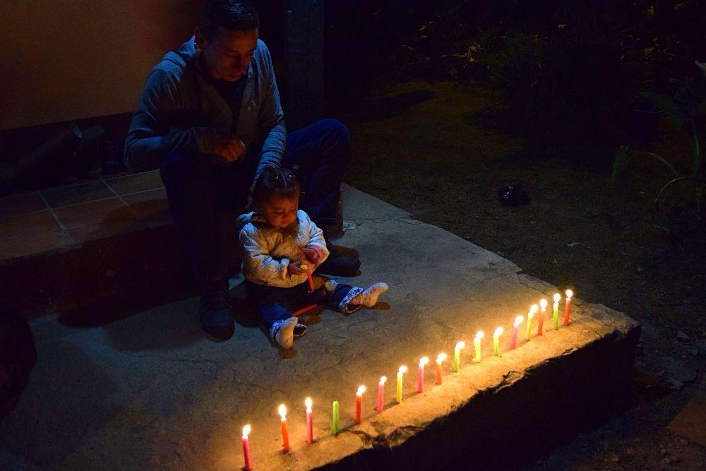 Nacht van de kaarsjes Colombia