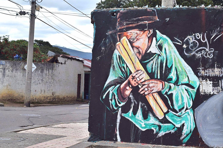 Street art Sopó Colombia
