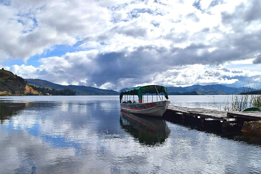 Duiken in Colombia - Lago de Tota 24