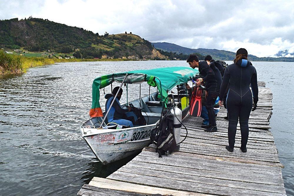 Duiken in Colombia - Lago de Tota
