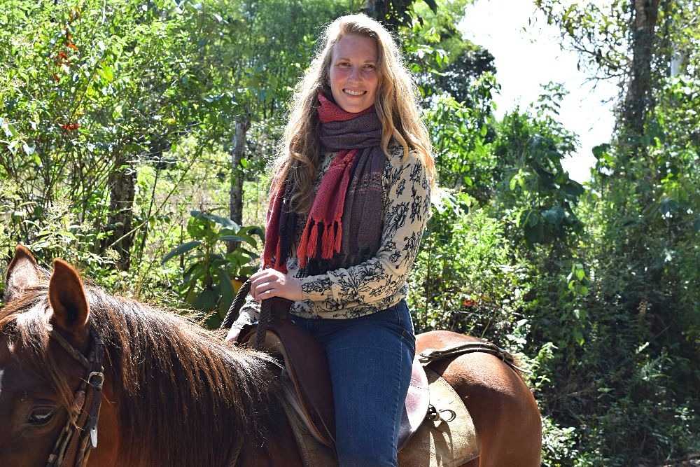 Paardrijden in Colombia - San Agustín - ik