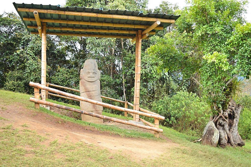 Archeologisch park San Agustín Colombia