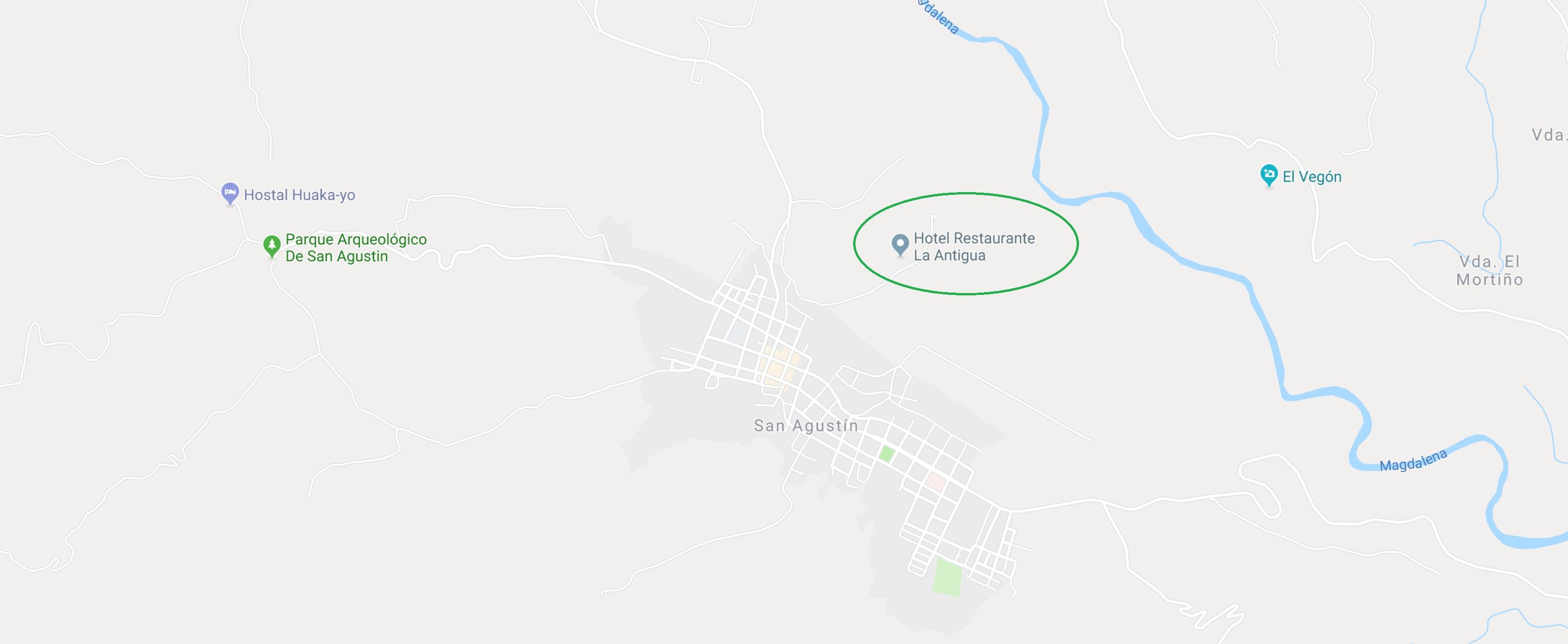 Hotel San Agustín Google Maps