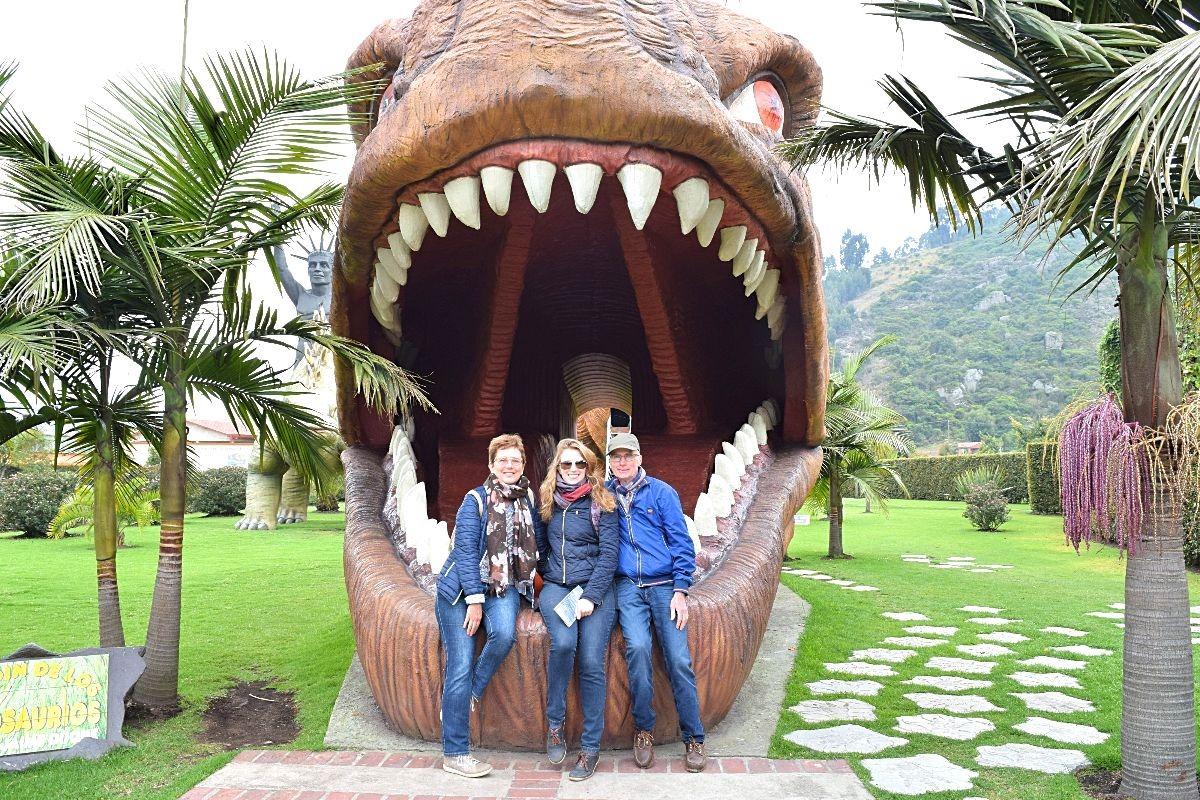 Ouders op bezoek in Colombia - Parque Jaime Duque