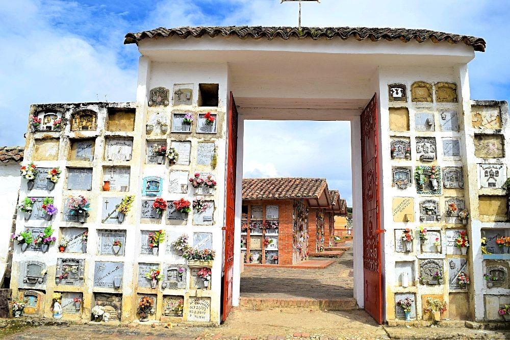 Begraafplaats Colombia - Chocontá