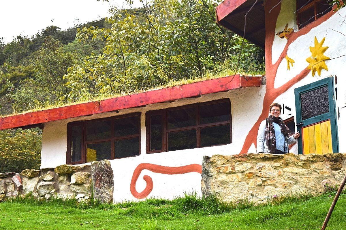 Ouders op bezoek in Colombia - Jardín Colibrí