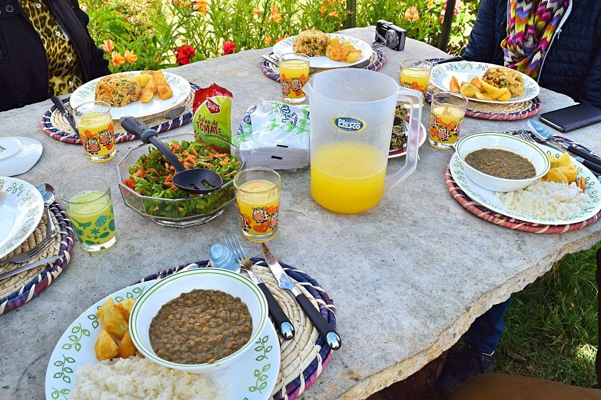 Ouders op bezoek in Colombia - Nederlandse kaas 1