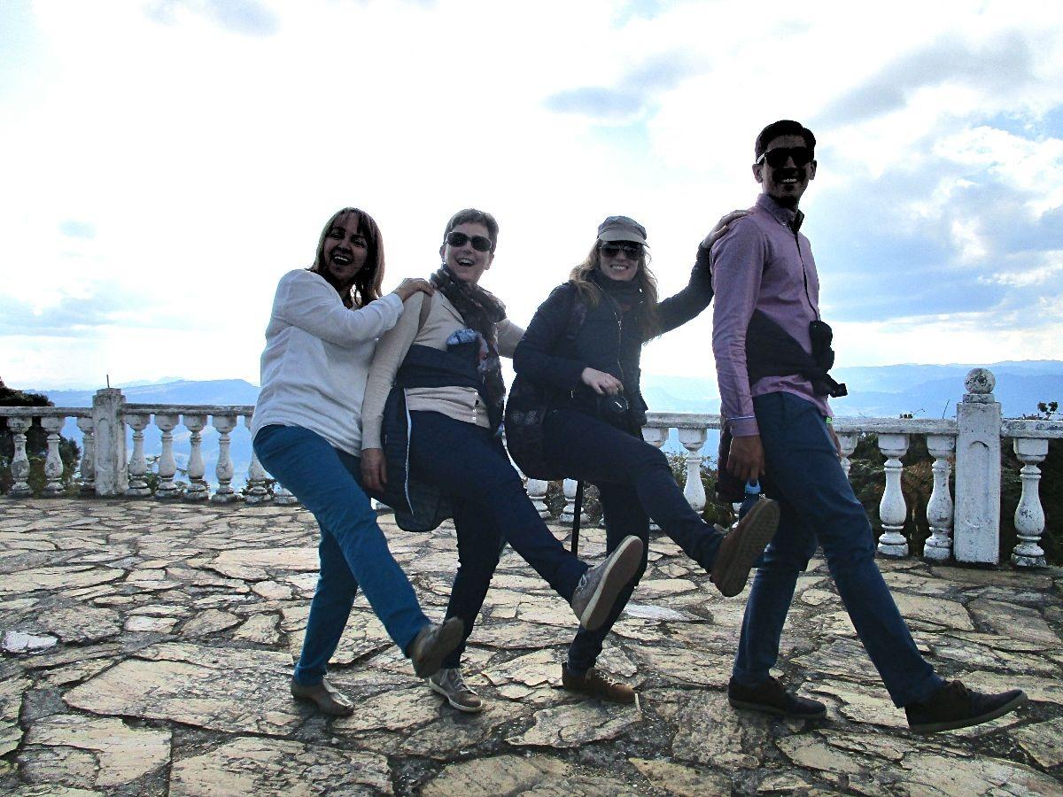 Ouders op bezoek in Colombia - wandelen op Pionono 1