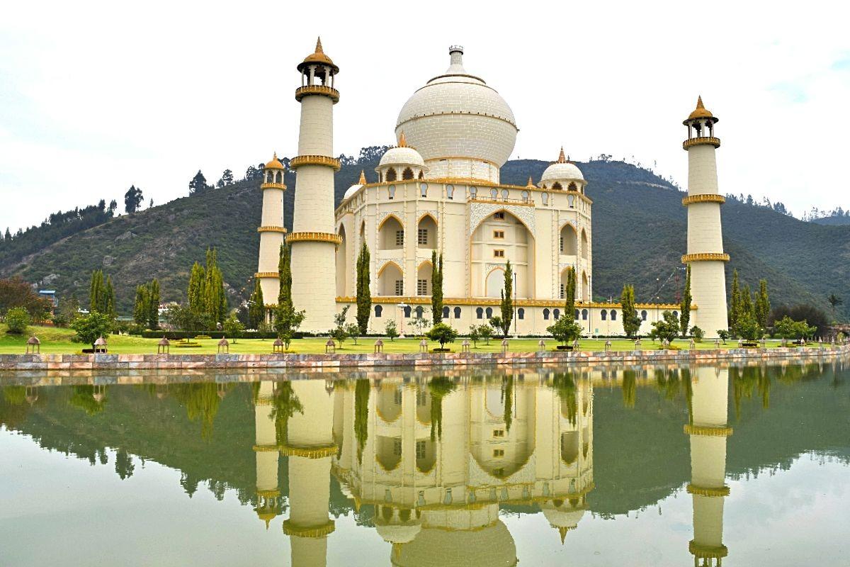 Parque Jaime Duque dagtrip Bogotá Colombia - Taj Mahal
