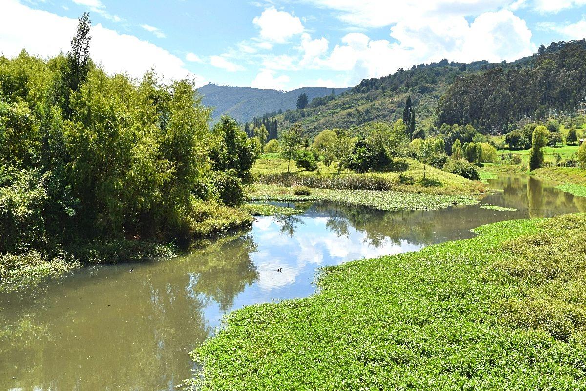 Buiten de gebaande paden Colombia - Parque Puente Sopó