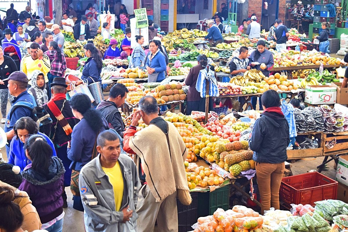 Popayan dagtrip Silvia dorpje markt