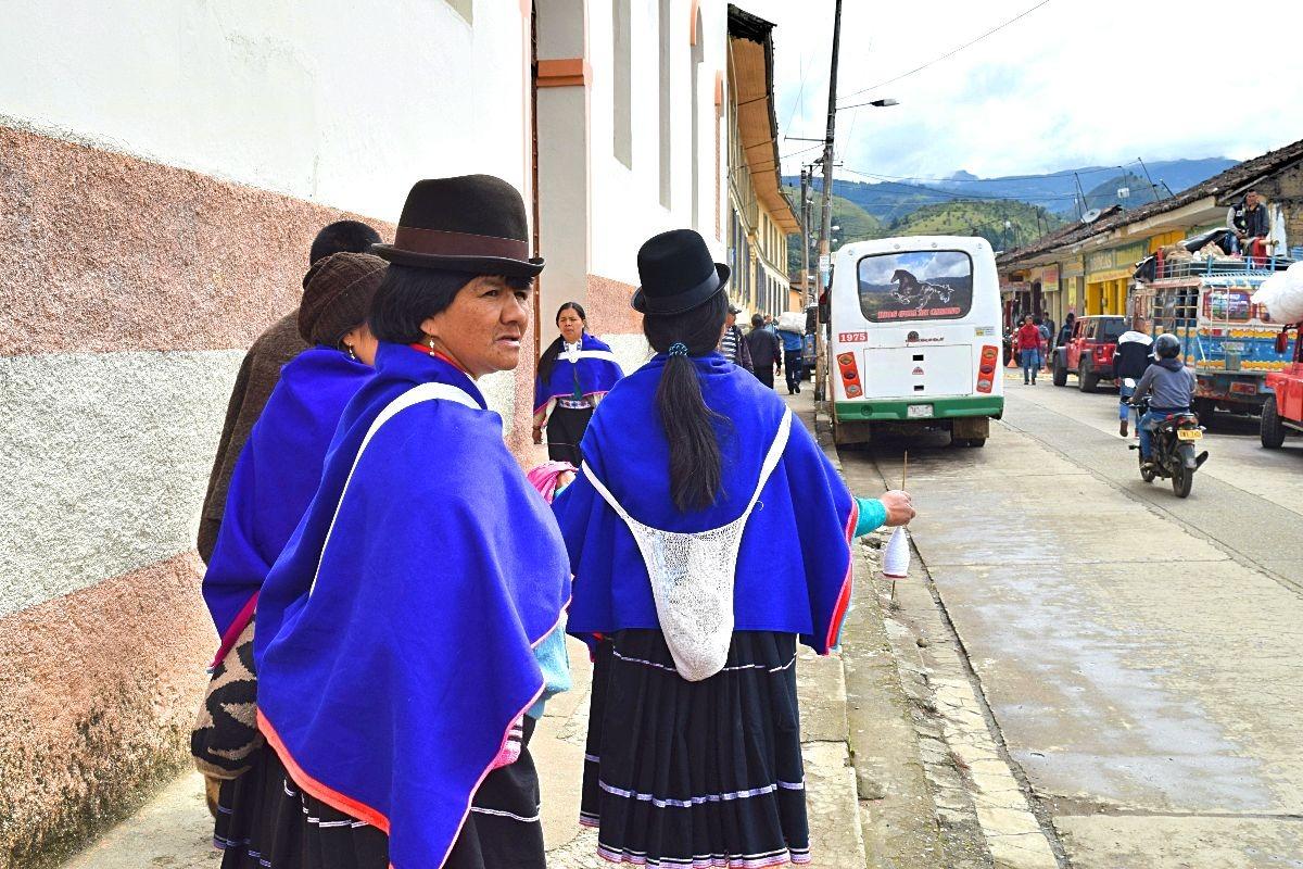 Popayan dagtrip Silvia dorpje