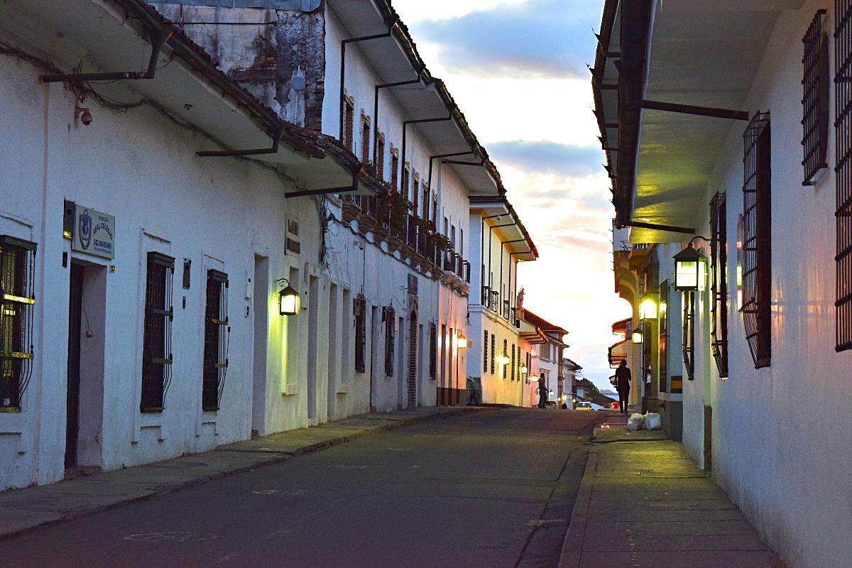 Avond Popayán Colombia