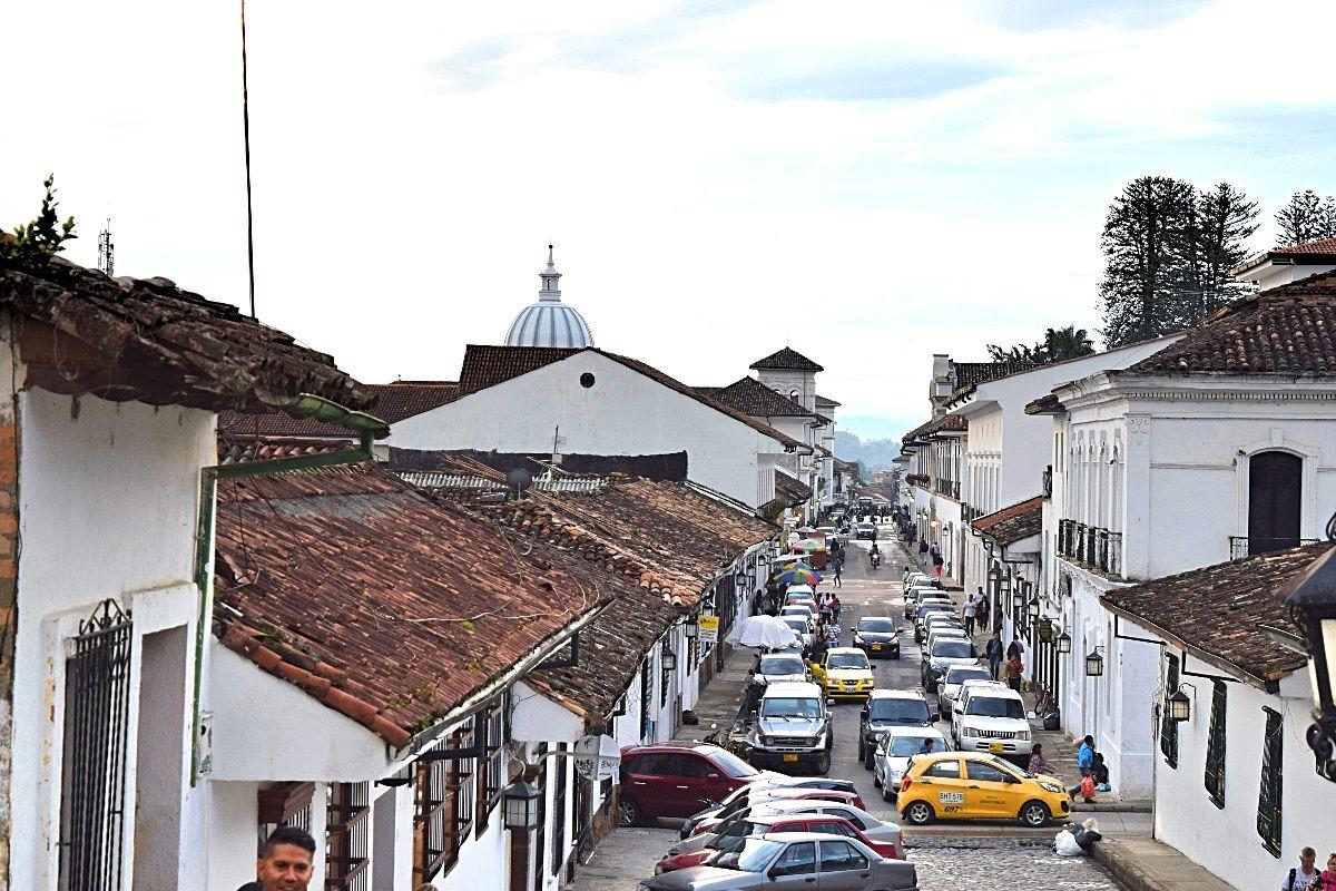 Bezoek Popayán Colombia