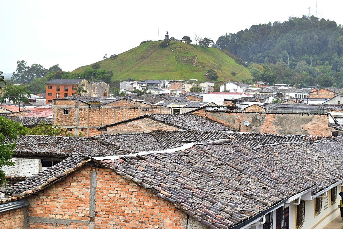 Uitzichtpunt Popayán Colombia
