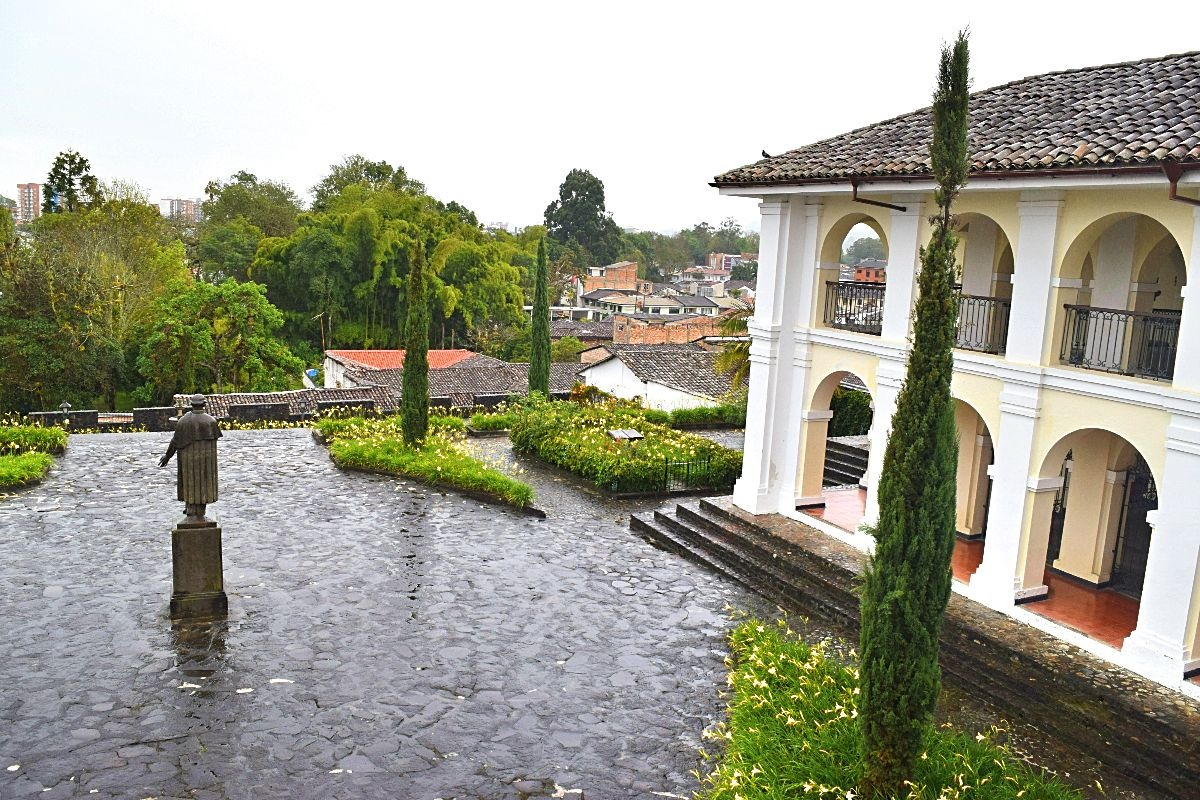 Valencia museum Popayán Colombia