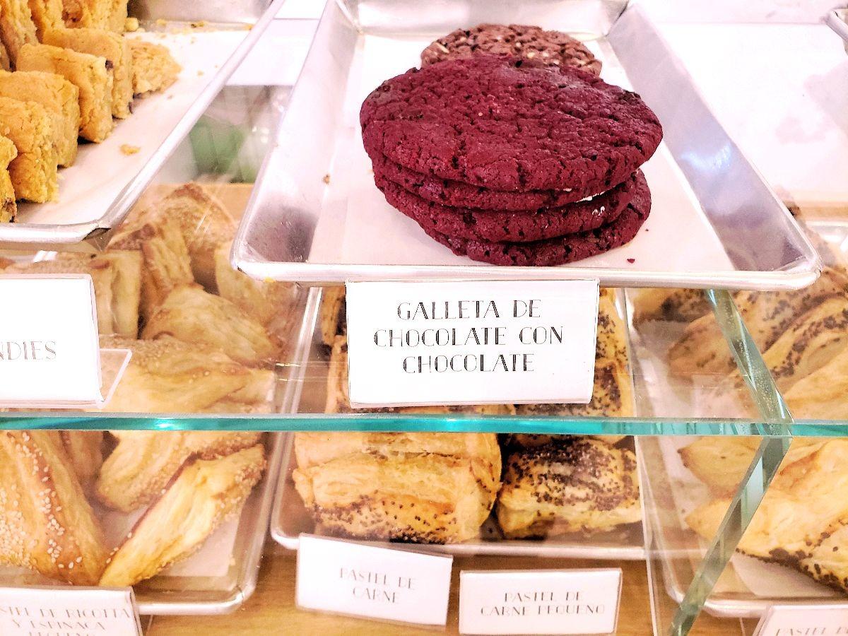 Chocoladekoekjes met chocola