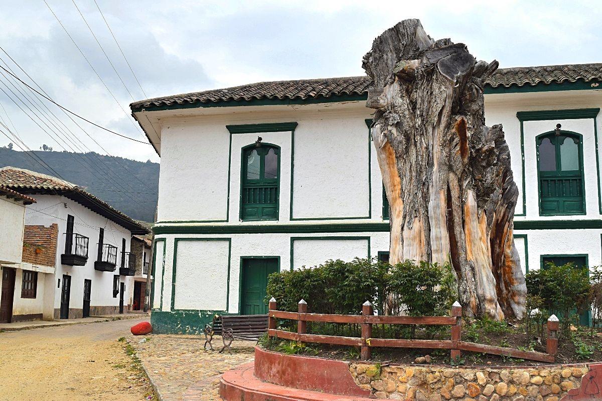 Witte dorp Colombia - Iza
