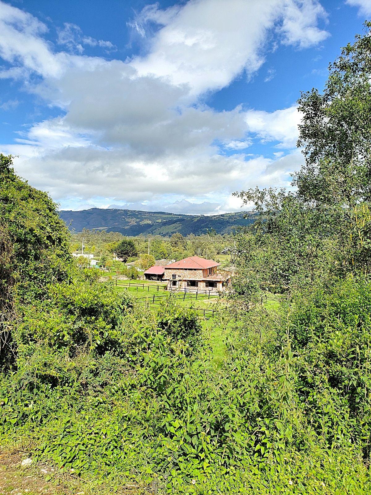 Ons huis in Colombia op het platteland