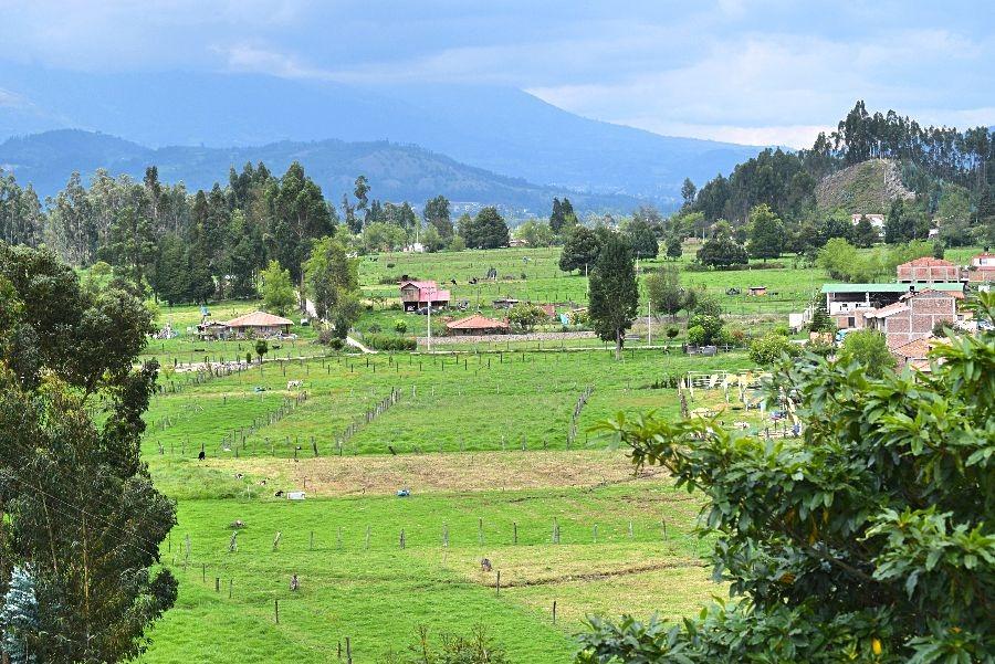 Reisroute Colombia buiten de gebaande paden - Paipa