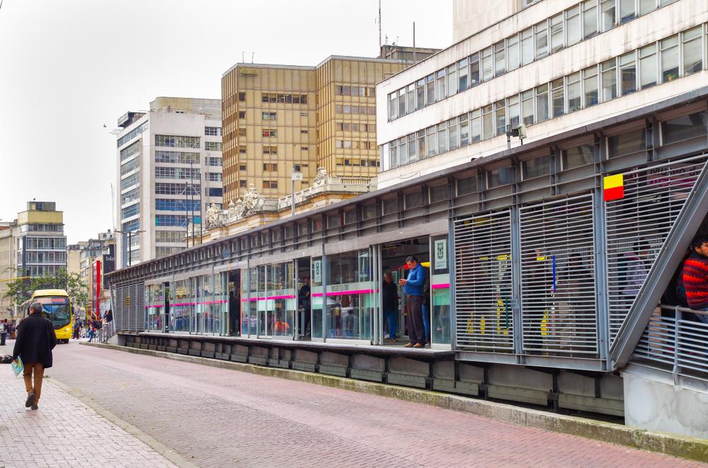 Transmilenio openbaar vervoer Bogotá 2