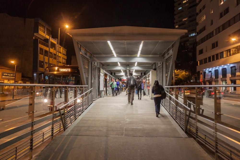 Transmilenio openbaar vervoer Bogotá 3