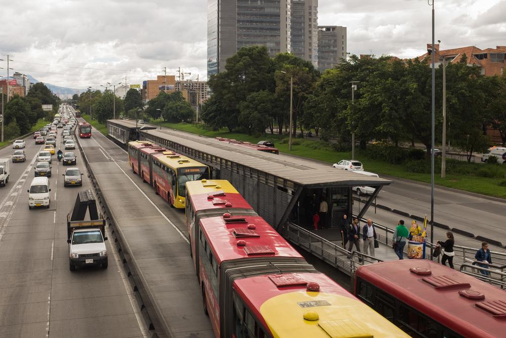 Transmilenio openbaar vervoer Bogotá 4