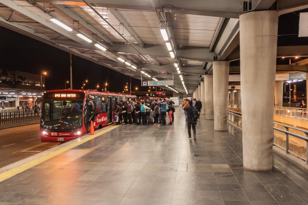 Transmilenio openbaar vervoer Bogotá 5