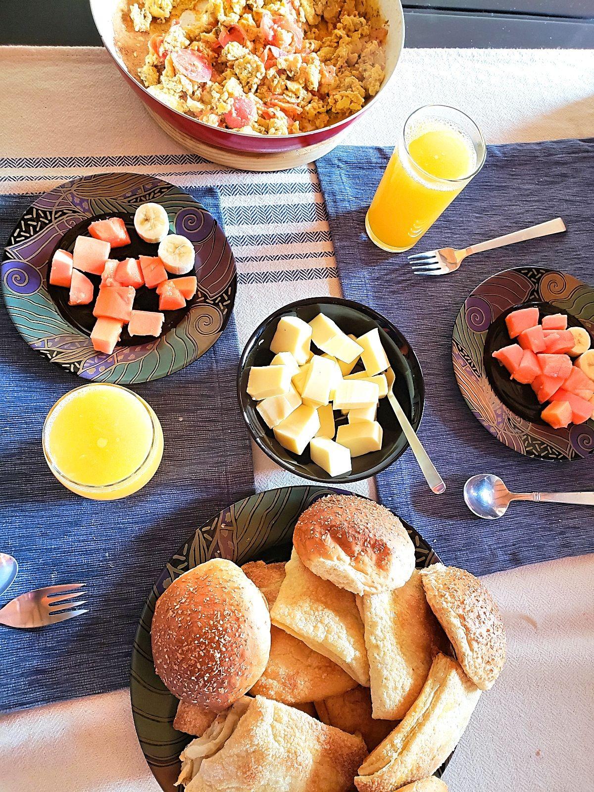 Colombiaans ontbijt