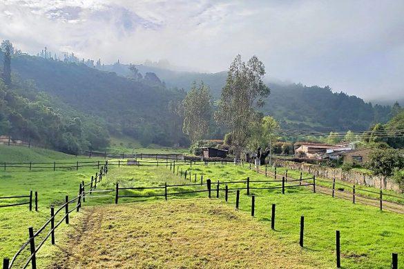 Wonen op het platteland in Colombia