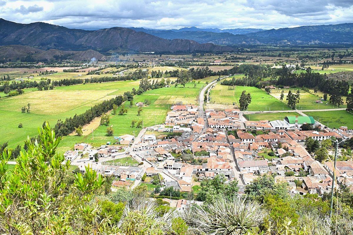 Must-see Colombia Cucunubá uitzicht 4
