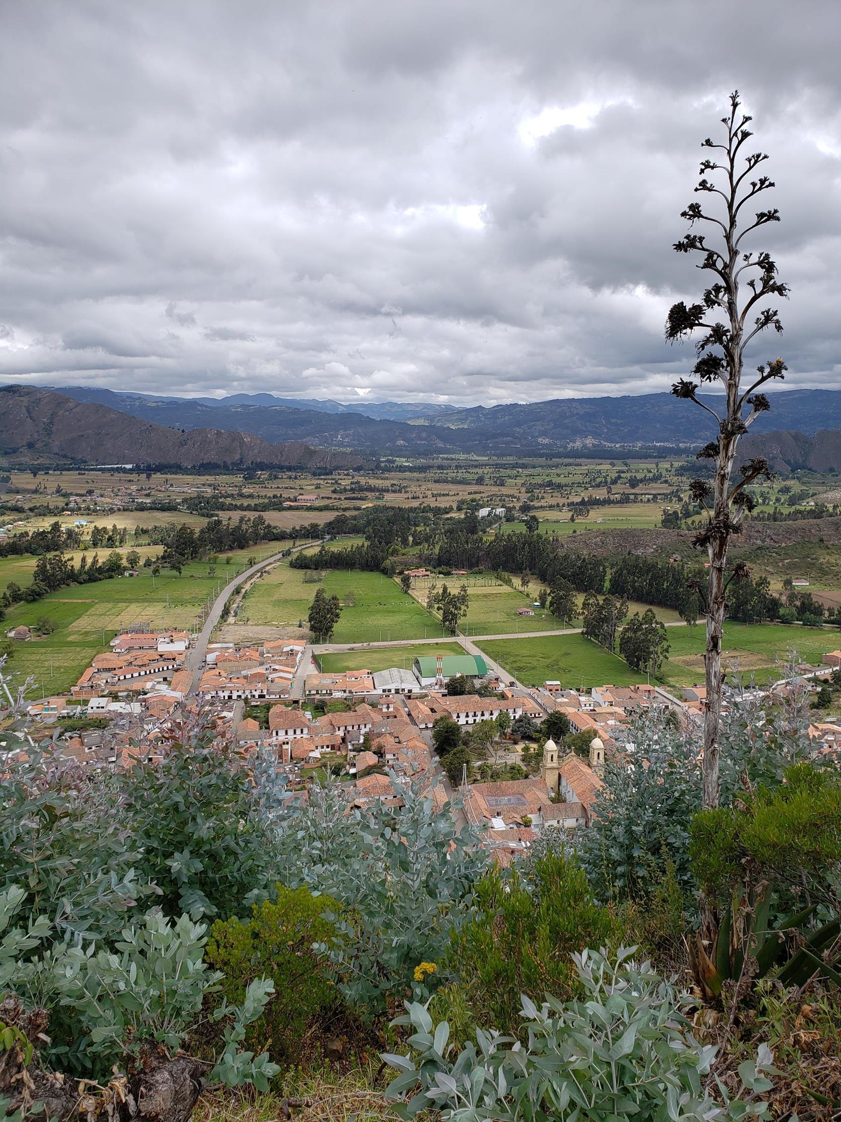 Uitzicht Cucunubá
