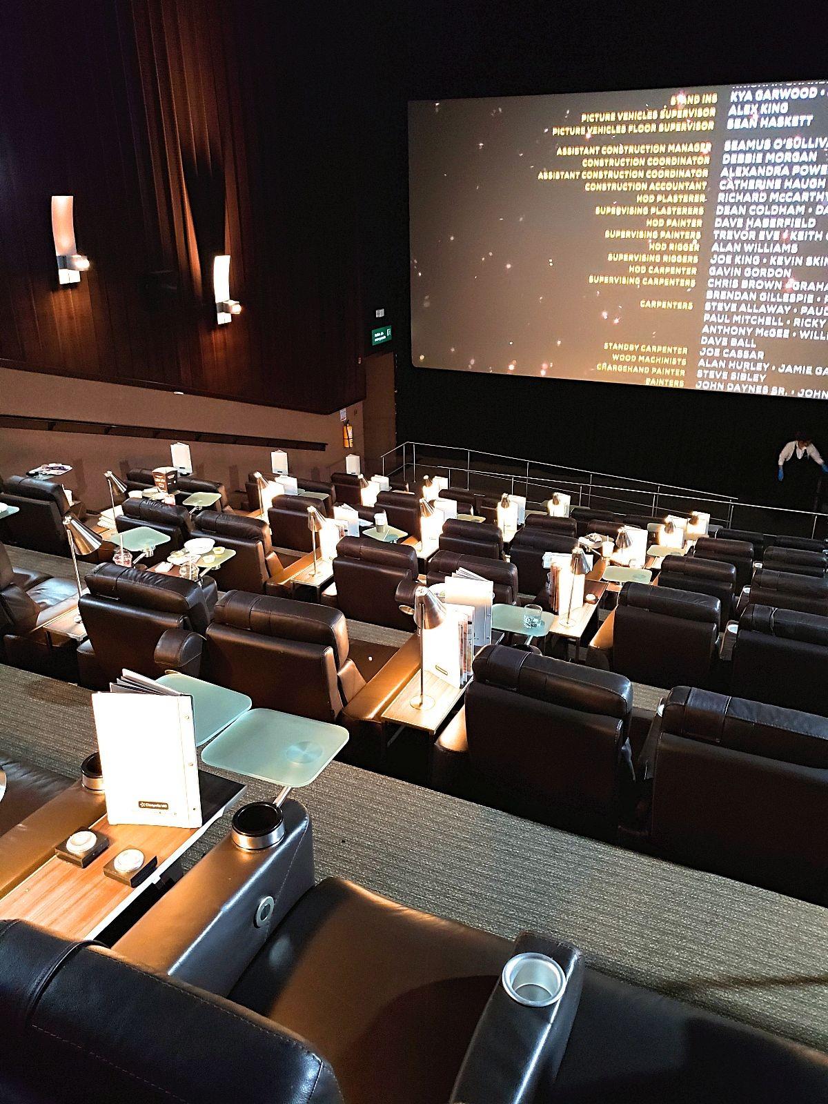 Naar de VIP bioscoop in Colombia