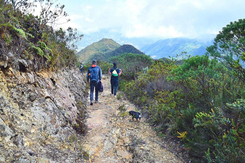 Hiken in Colombia Sisga
