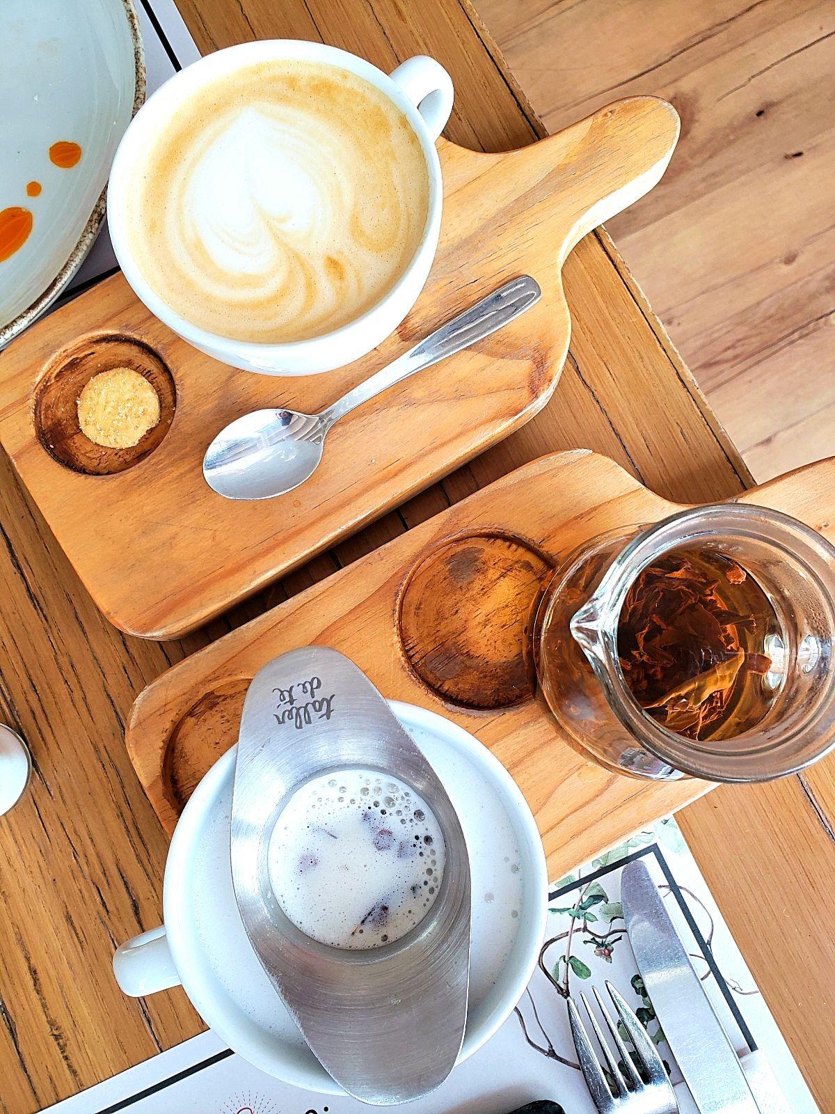 Thee en koffie Bogotá restaurant