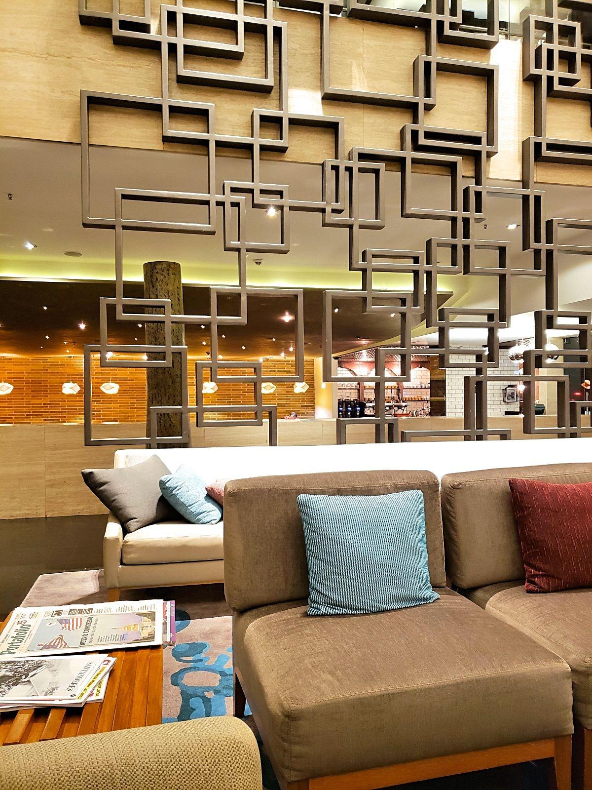 Uiteten in het Hilton Bogotá