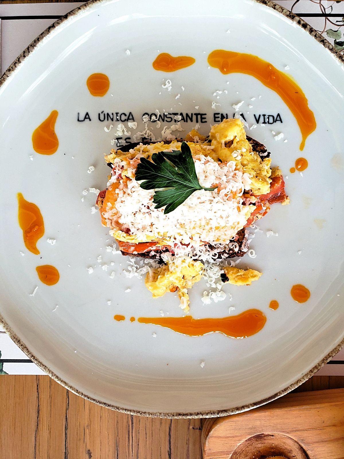 Vegetarisch ontbijt Bogotá