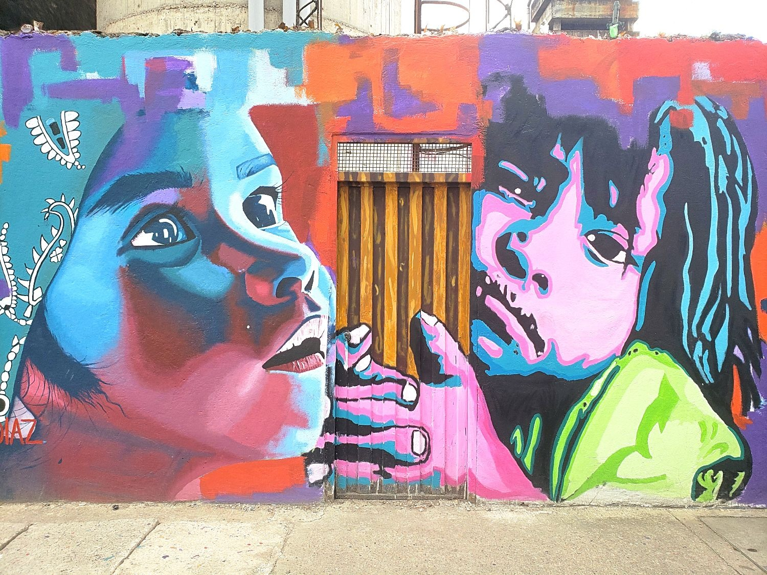 Street art graffiti Colombia Sopó
