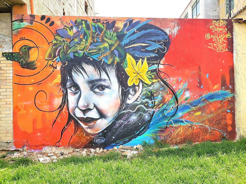 Street art graffiti Colombia Sopó