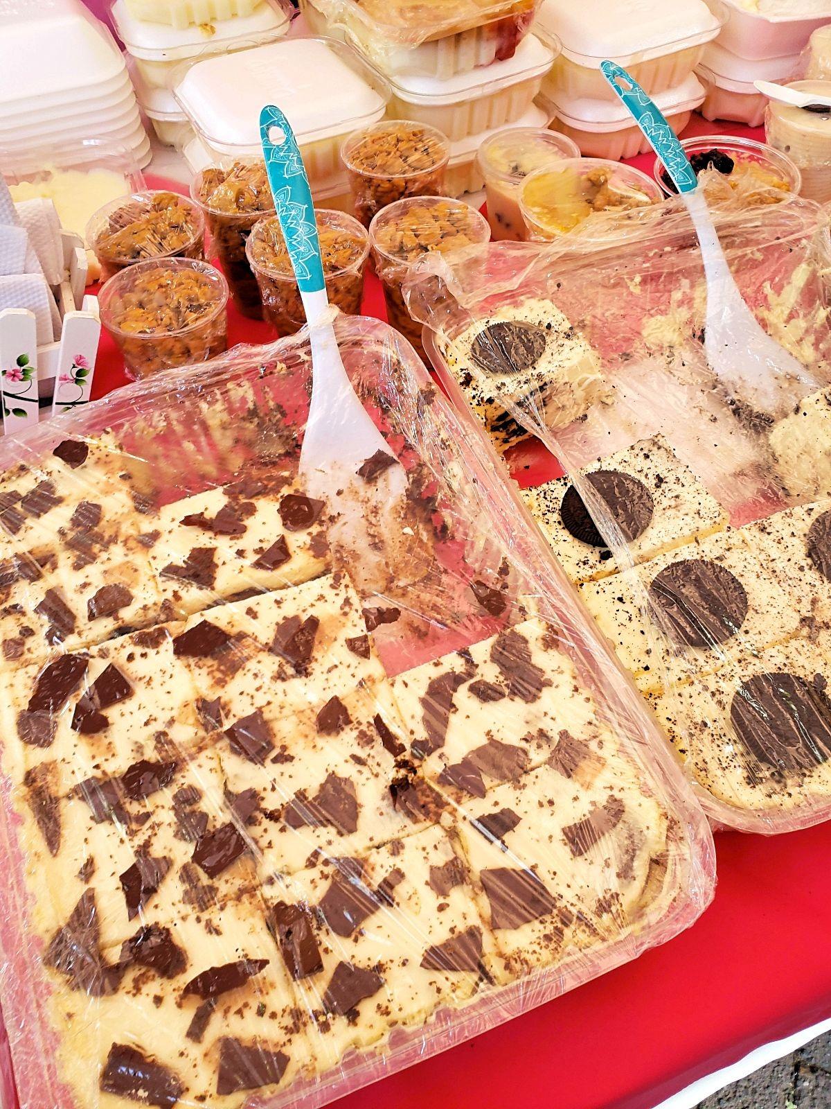 Toetjes markt Sopó Colombia