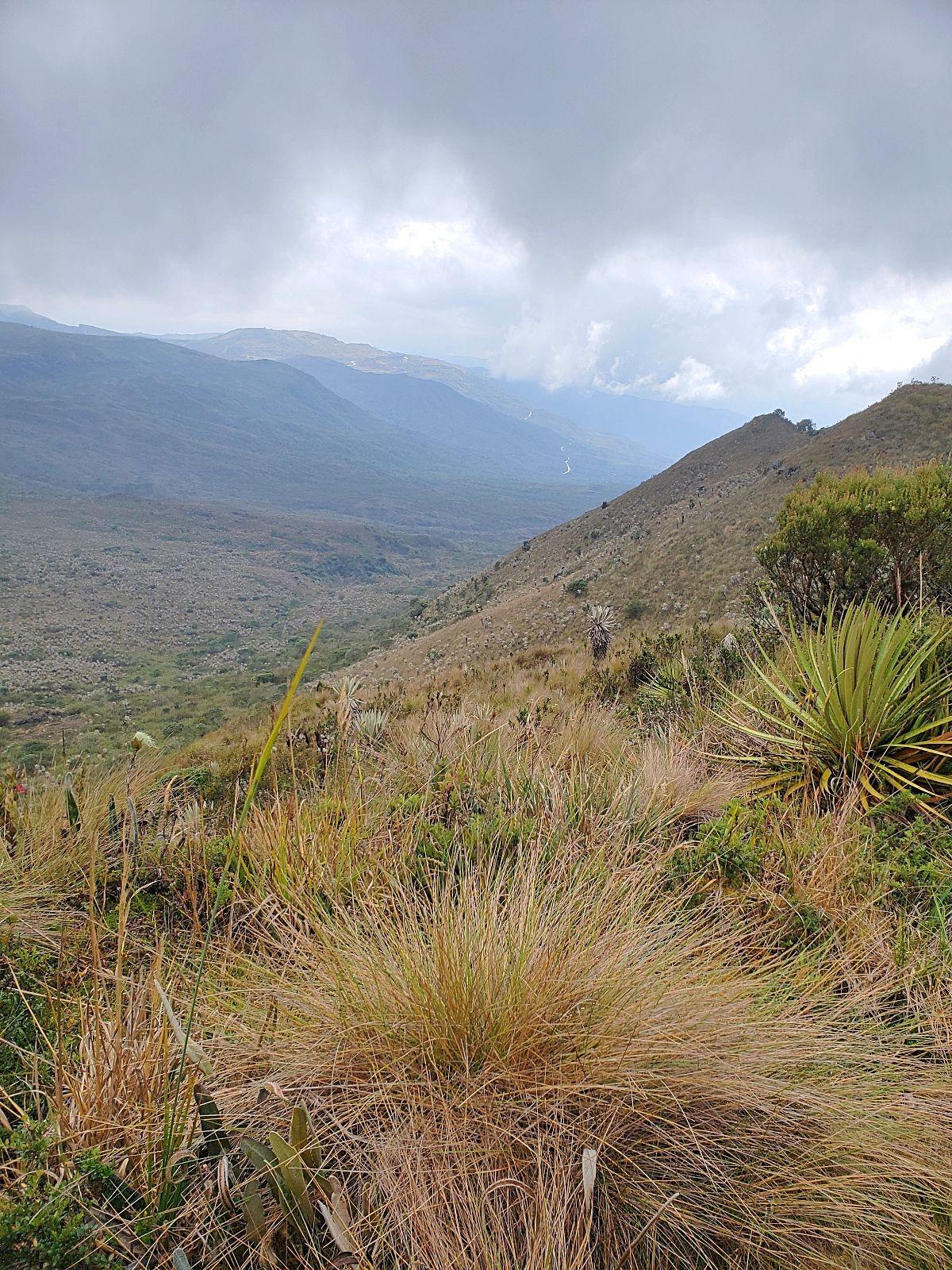 Wandelen in Colombia Chingaza