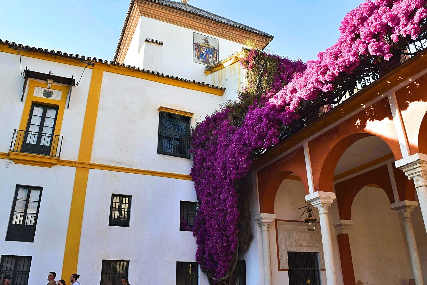 Casa de Pilatos paleis Sevilla Spanje