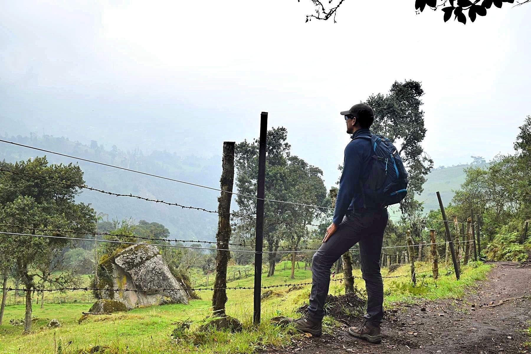 Uitzicht en hiken Colombia