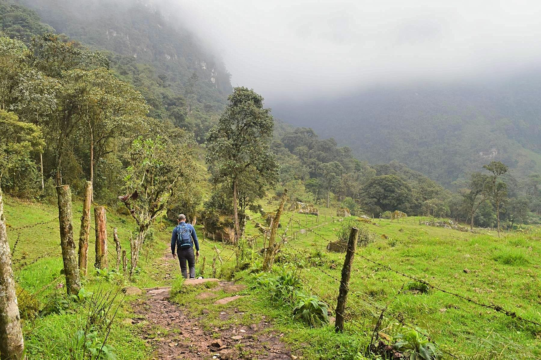 Hiken in Colombia