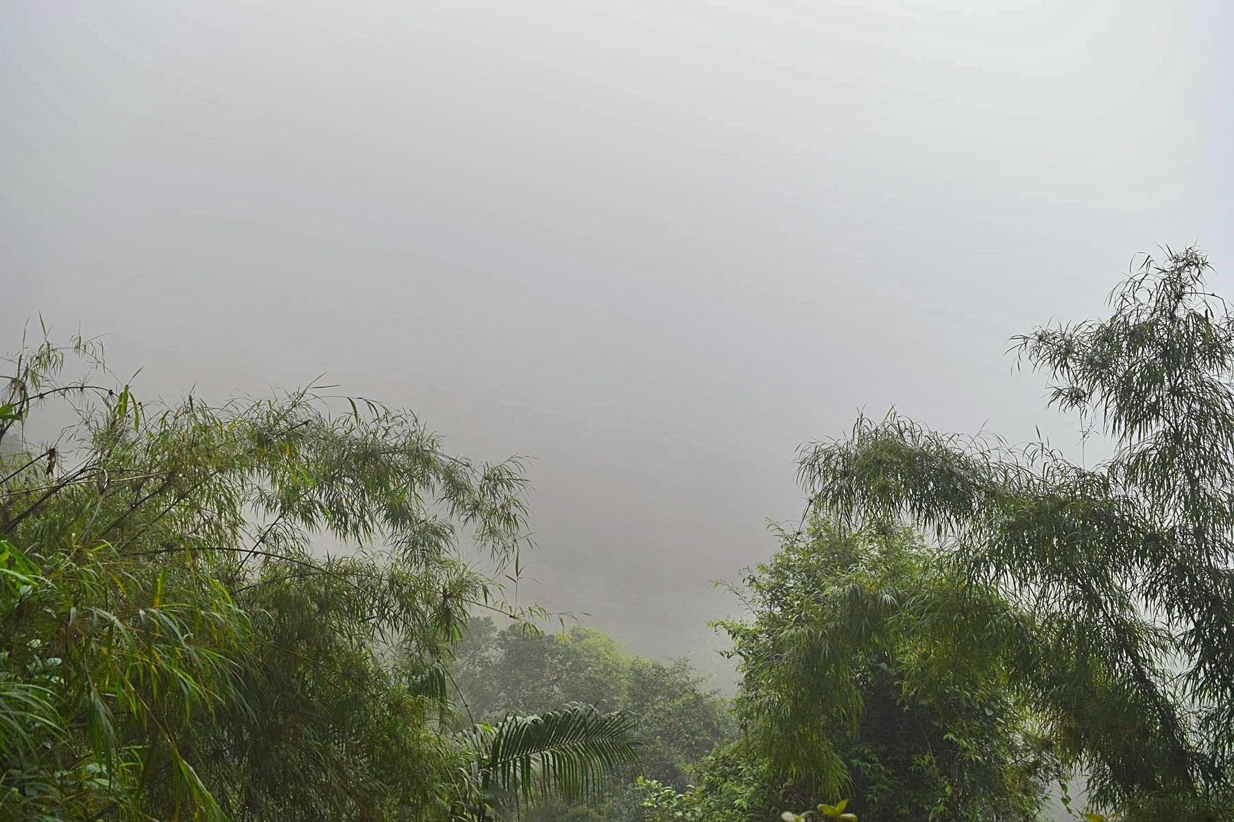 Dicht wolkendek Colombia