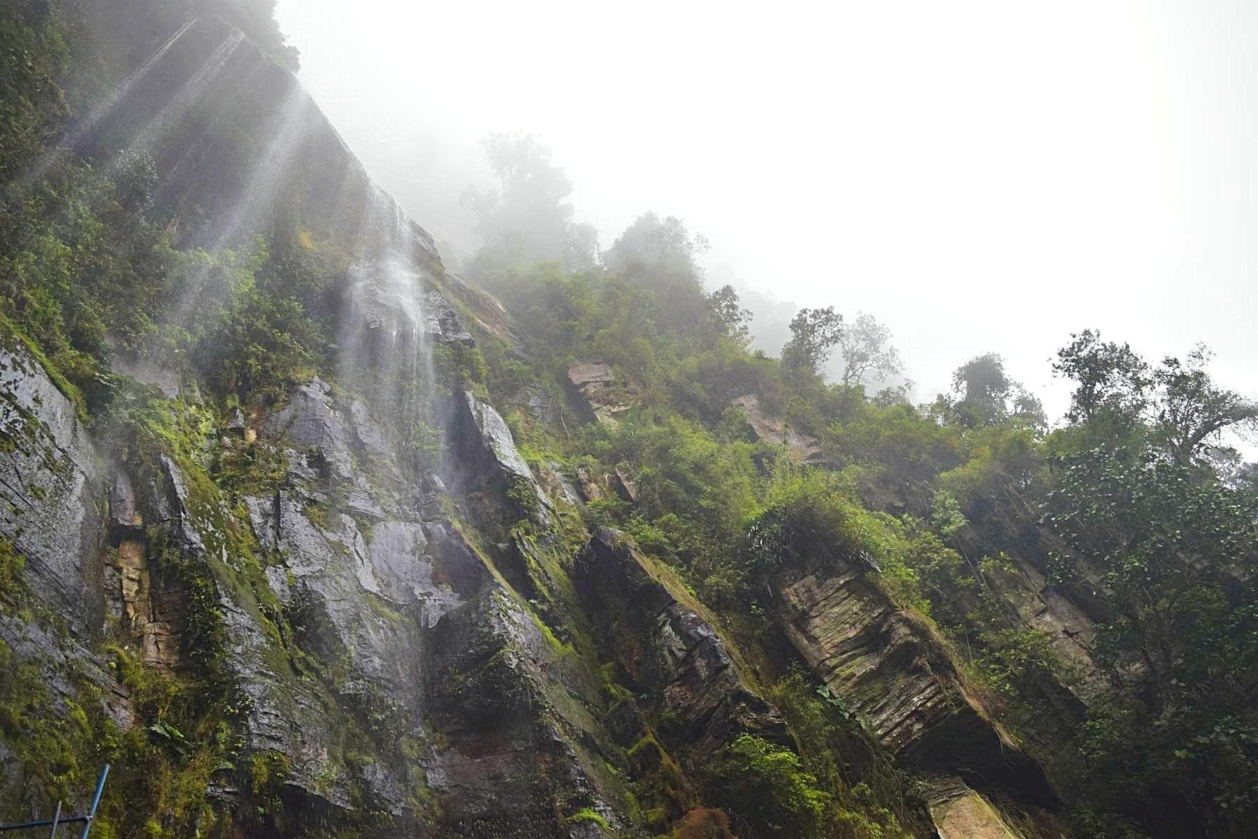 Hoogste waterval Colombia La Chorrera Choachí