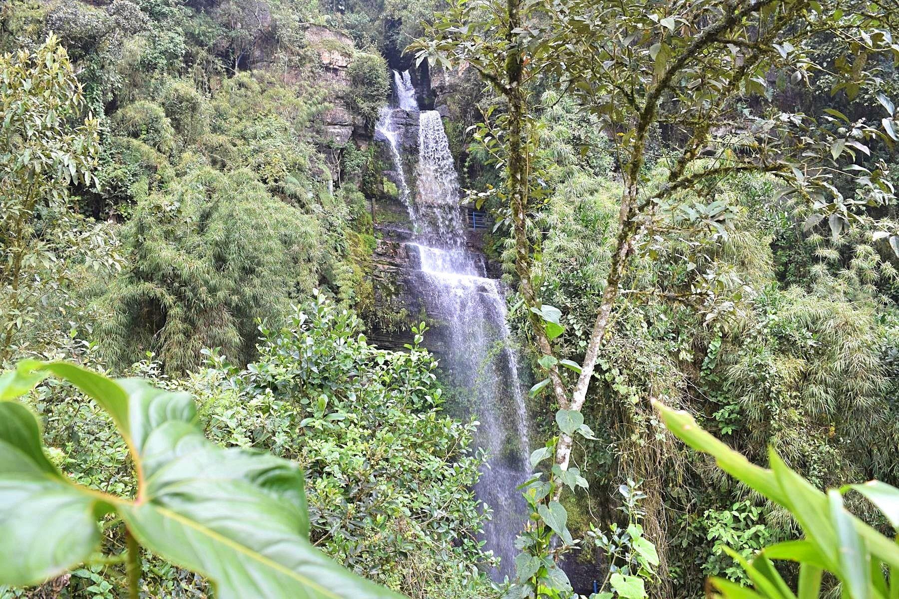 Waterval El Chiflon Colombia